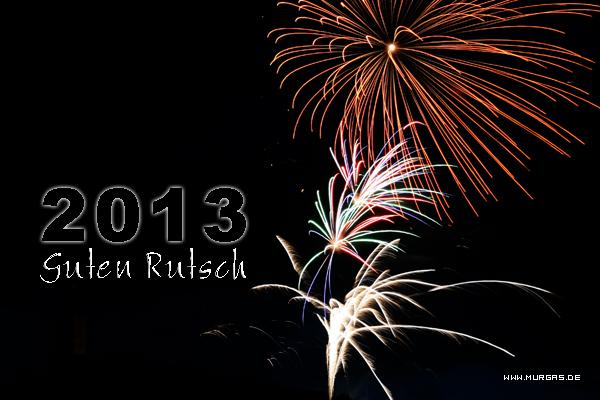 Guten Rutsch 2013