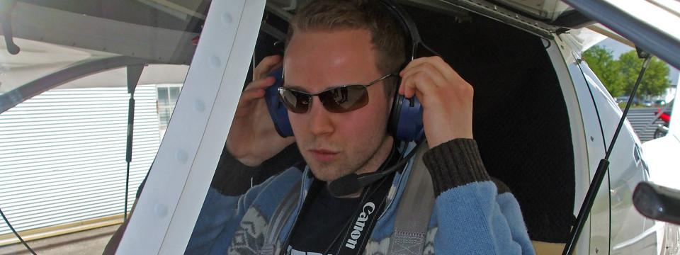 Foto-Rundflug als Pilot über Gießen und Umgebung (Mai 2014)