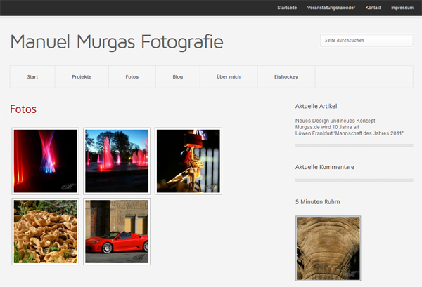 Manuel Murgas Fotografie - Galerie