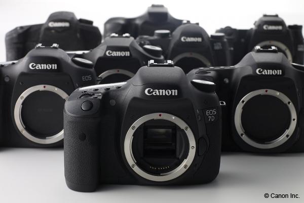 Canon EOS 7D Produktfoto - © Canon Inc.