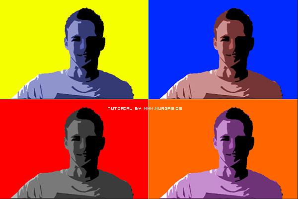 Tutorial Andy Warhol Effekt