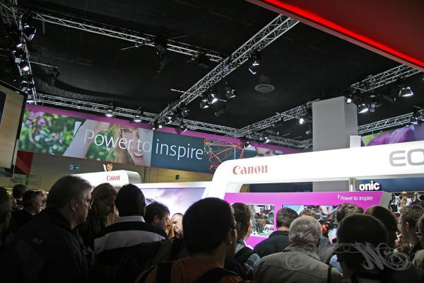 Messestand von Canon auf der Photokina 2012