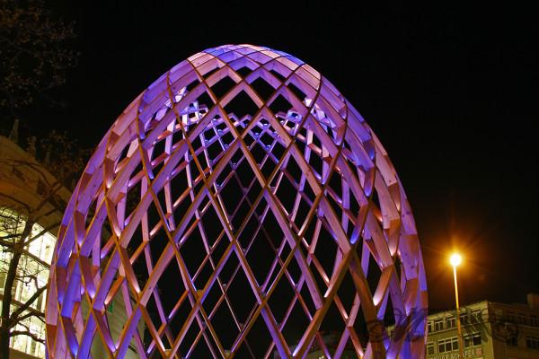 OVO an der Hauptwache während der Luminale (2012)