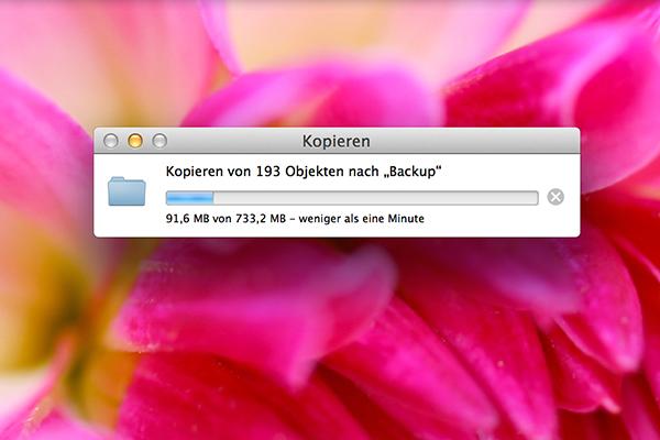Datensicherung (Dateien Kopieren)
