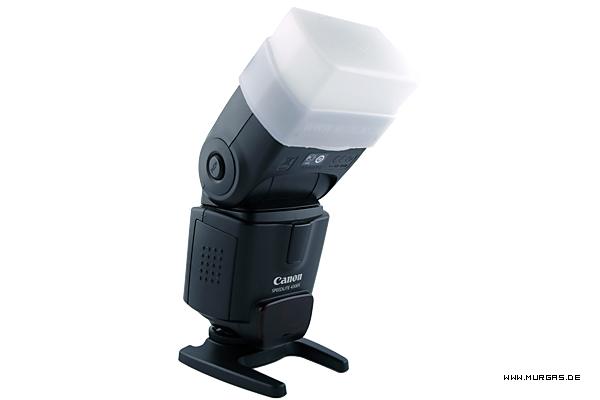 Sto-Fen Omni-Bounce auf Canon Speedlite 430EX