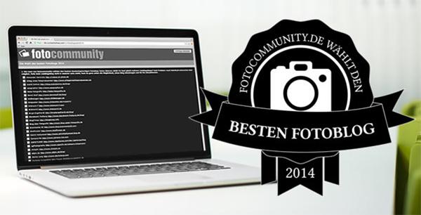 Die Fotocommunity wählt den besten Fotoblog 2014
