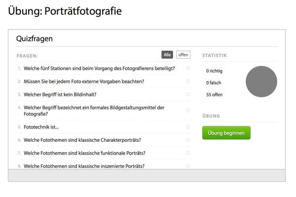 """Quizfragen beim Kurs """"Fotografieren lernen"""" mit Georg Banek"""