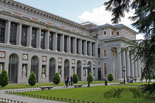 Kunstmuseum Museo del Prado in Madrid (Mai 2014)