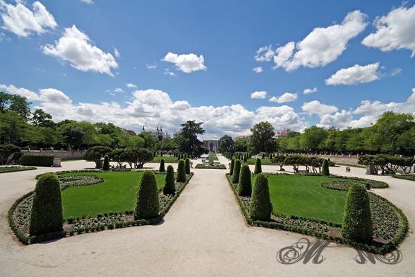 Der Retiro-Park im Herzen Madrids (Mai 2014)