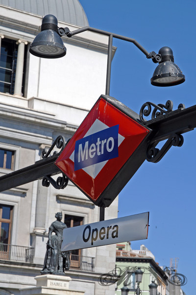 Metro-Station Opera in Madrid (Mai 2014)